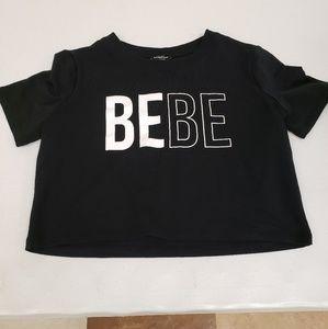 Bebe logo cropped top